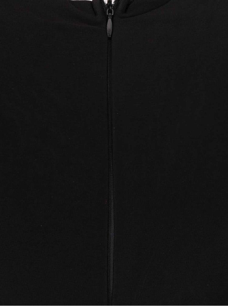 Černé maxišaty s krajkou AX Paris