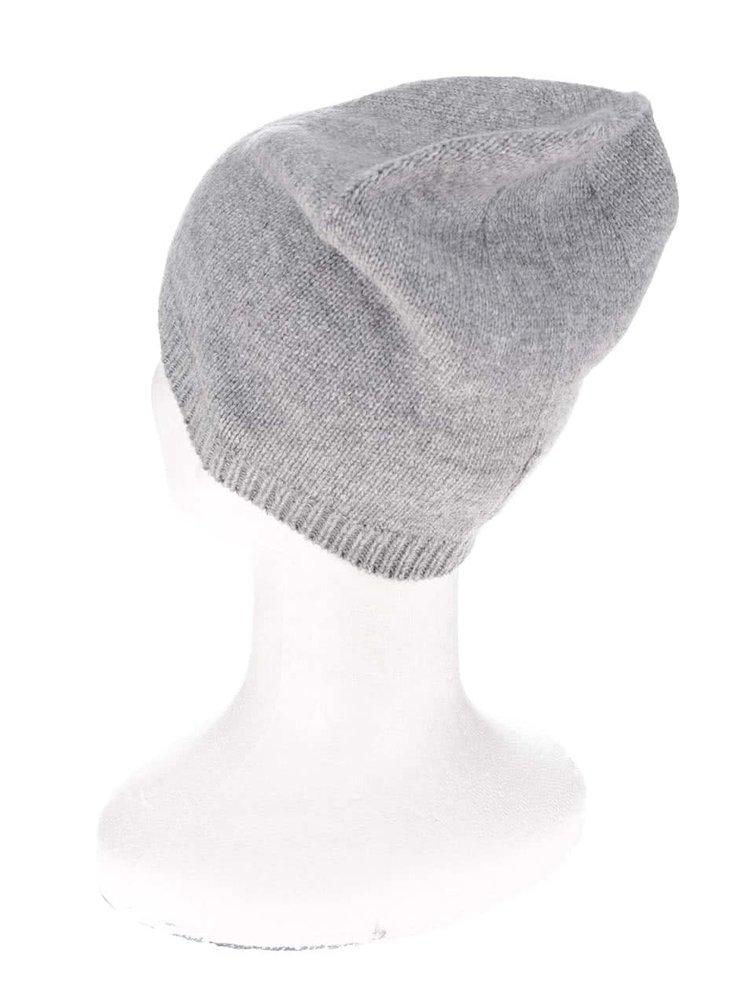 Svetlosivá vlnená čiapka ONLY Sally