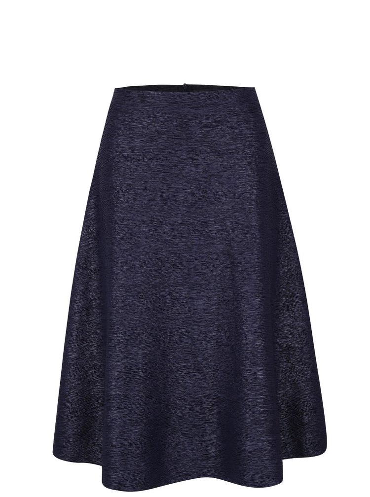 Tmavě modrá krepová sukně AX Paris