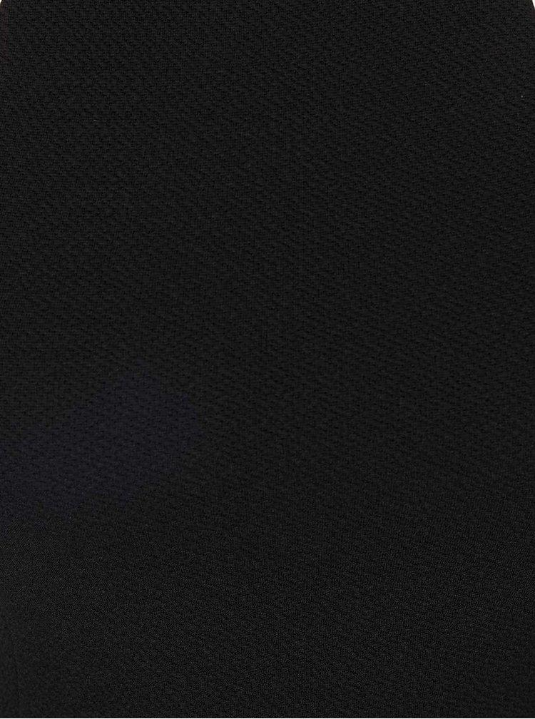 Čierne priliehavé šaty na ramienka AX Paris