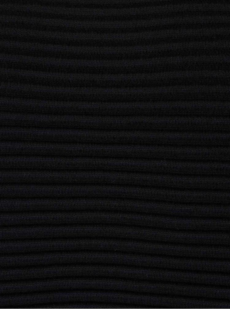 Čierny dámsky sveter Bench Wonderlust