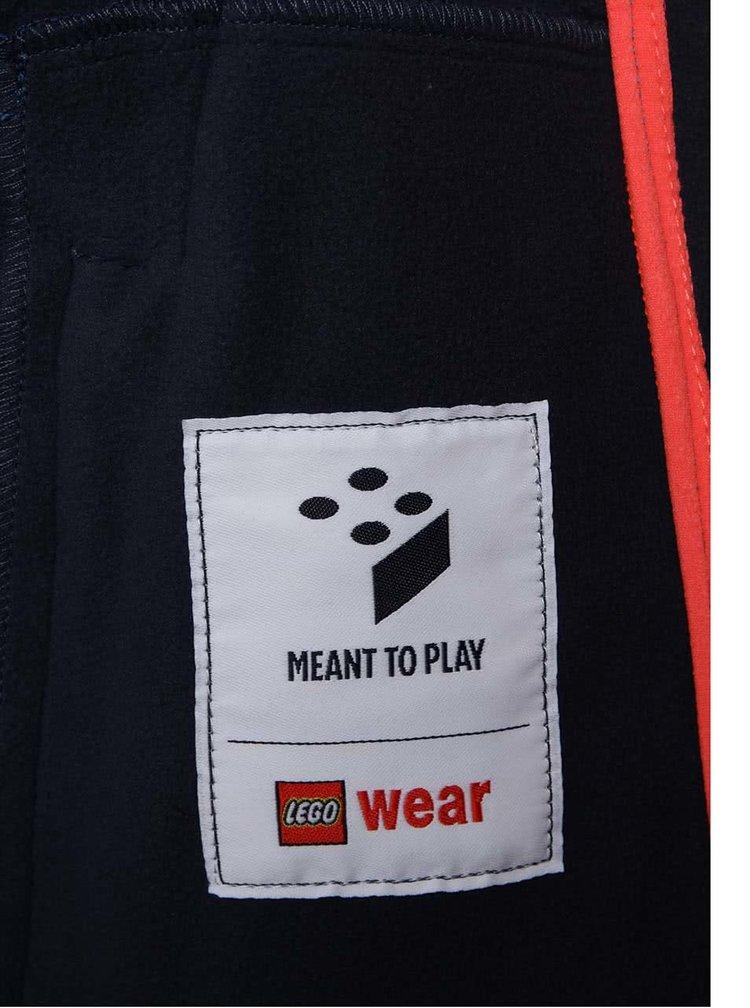 Modrá chlapčenská softshellová bunda LEGO Wear Skeet