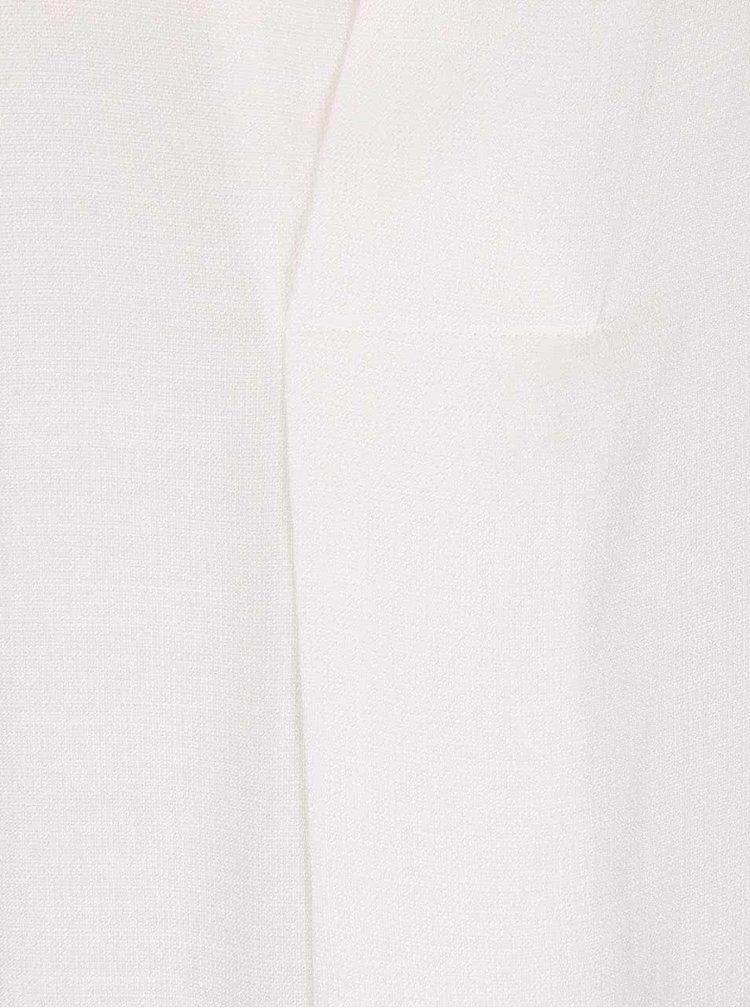 Krémová blúzka ICHI Cefra