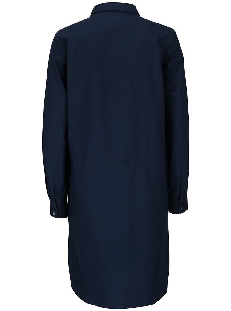 Tmavomodré šaty ICHI Avilda