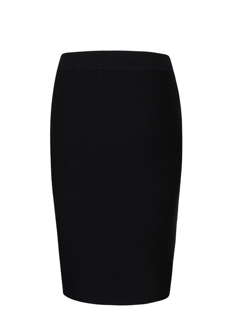 Černá sukně ICHI Milona