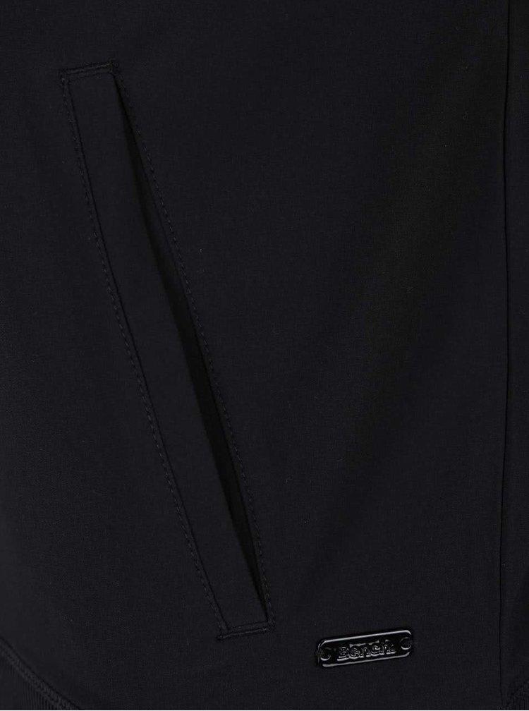Černý dámský bomber s barevnými rukávy Bench Febrile