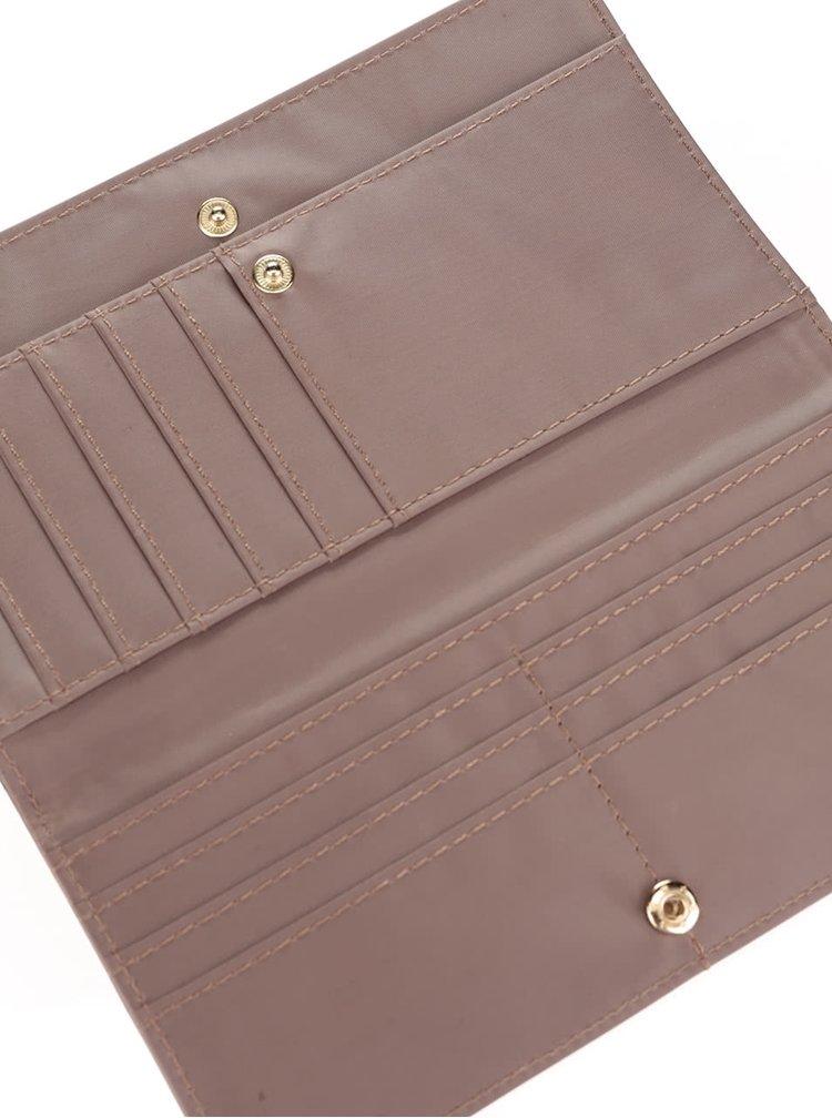 Hnědá dámská brogue peněženka Gionni Suellen