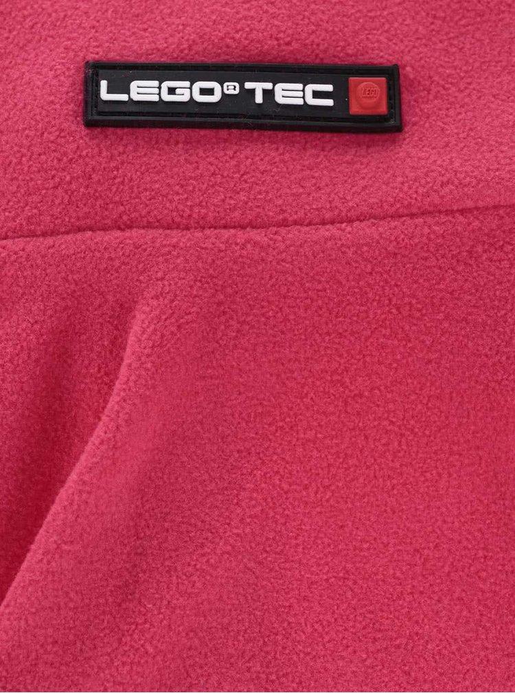 Tmavě růžový holčičí nákrčník LEGO Wear Ace