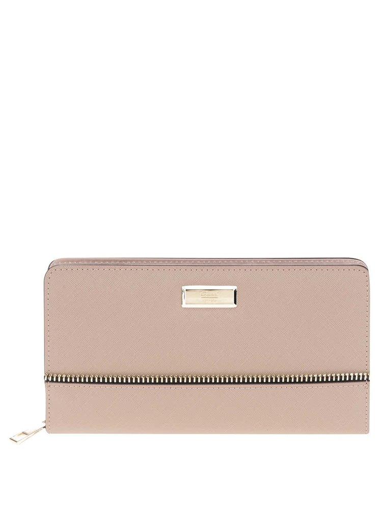 Béžová dámská peněženka se zipem Gionni Luana