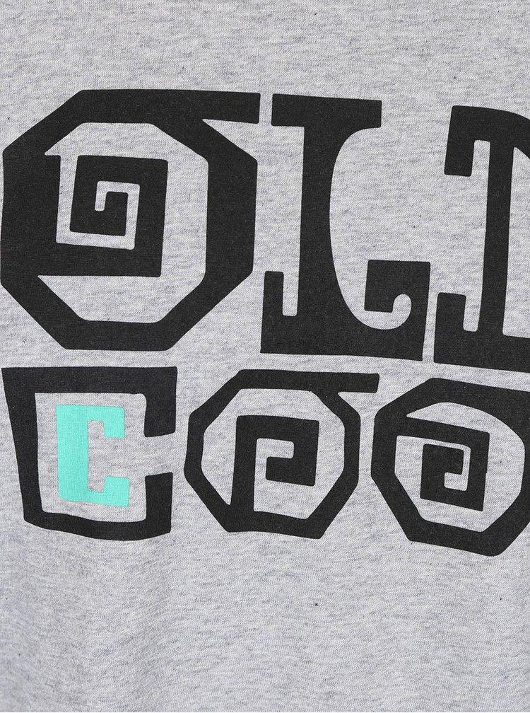 """""""Dobré"""" sivé pánske tričko Elpida"""