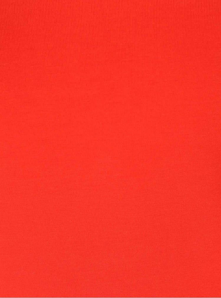Červené tričko s dlhým rukávom Haily's Tina