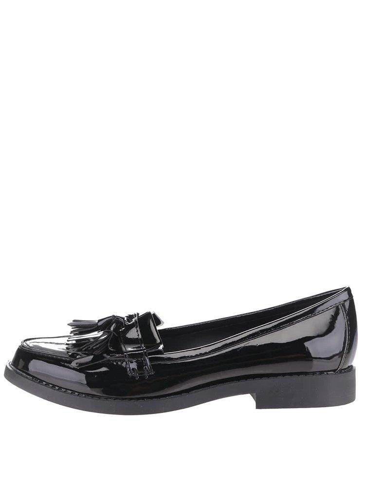 Pantofi penny loafers negri Dorothy Perkins