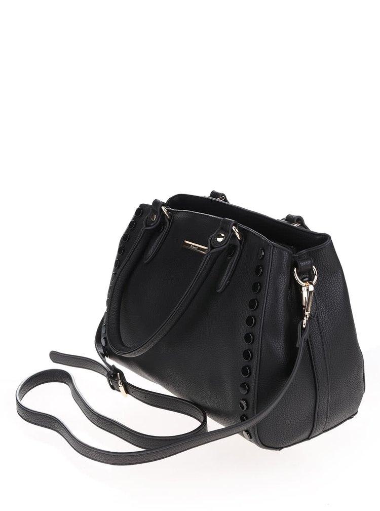 Černá  kabelka s aplikací Gionni Estella
