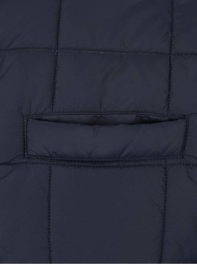 Tmavomodrá pánska prešívaná vesta Seven Seas