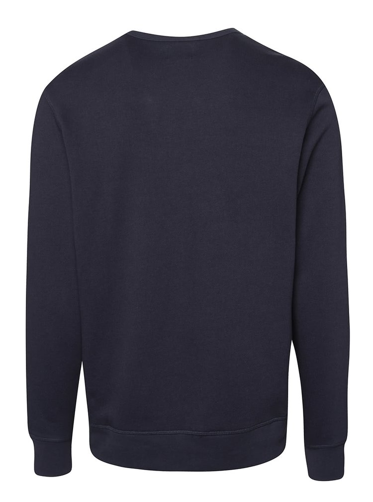 Bluză bleumarin Jack & Jones Gavin din bumbac
