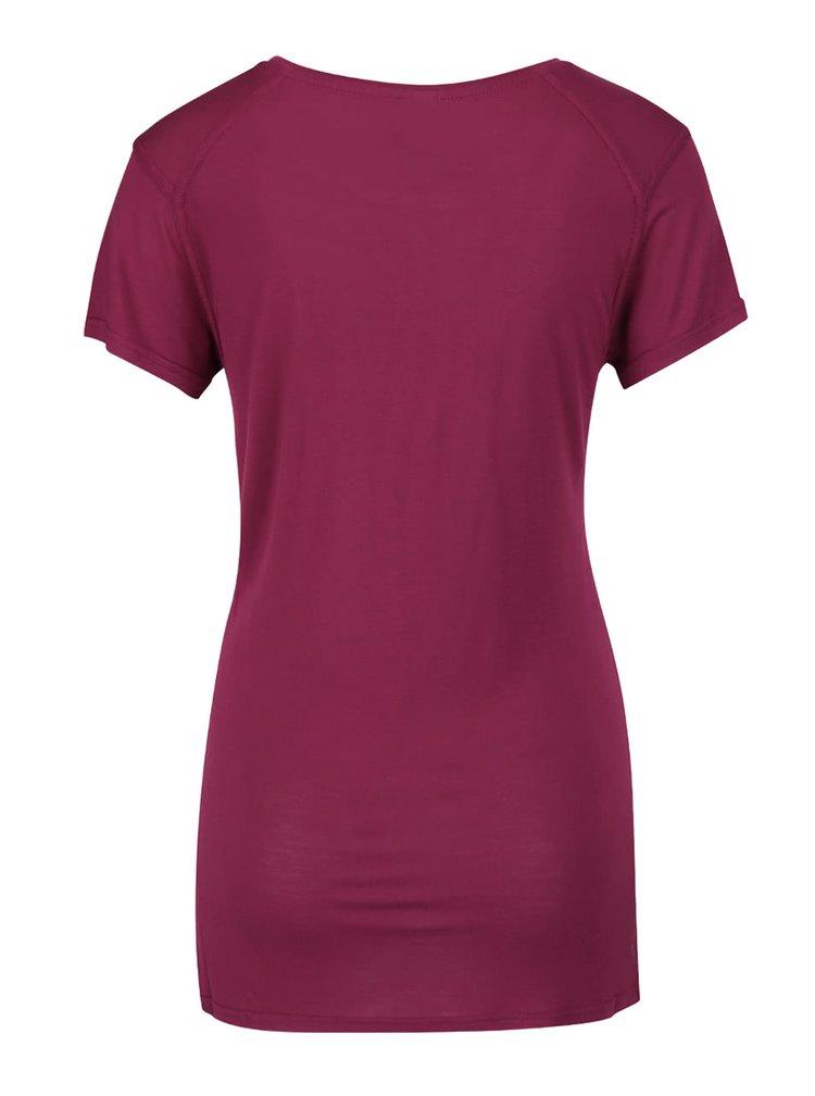 Tricou rosu inchis Bench Expate pentru femei