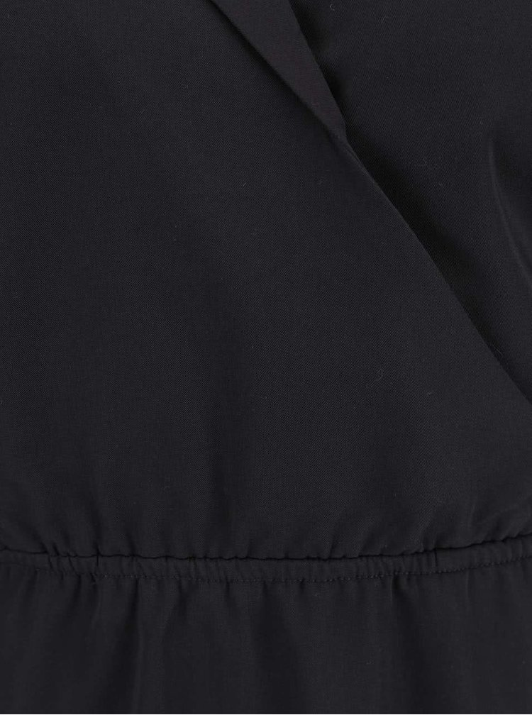 Čierne šaty ICHI Jackie
