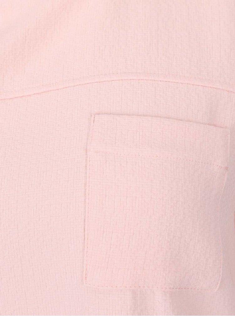Krémovo-růžová halenka Dorothy Perkins