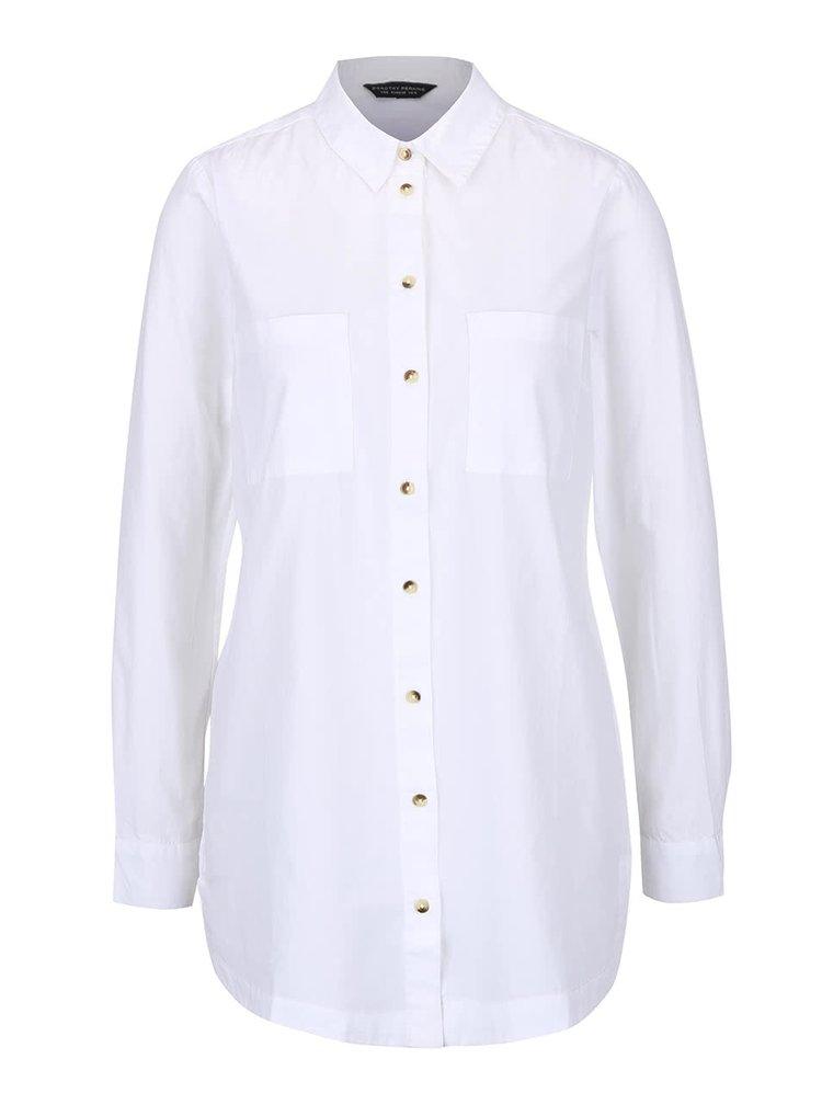 Biela košeľa s vreckami Dorothy Perkins