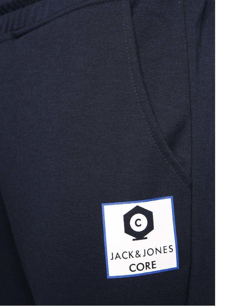 Tmavomodré tepláky Jack & Jones Radical