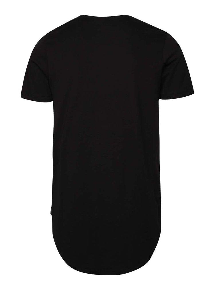 Čierne tričko s logom Jack & Jones Break