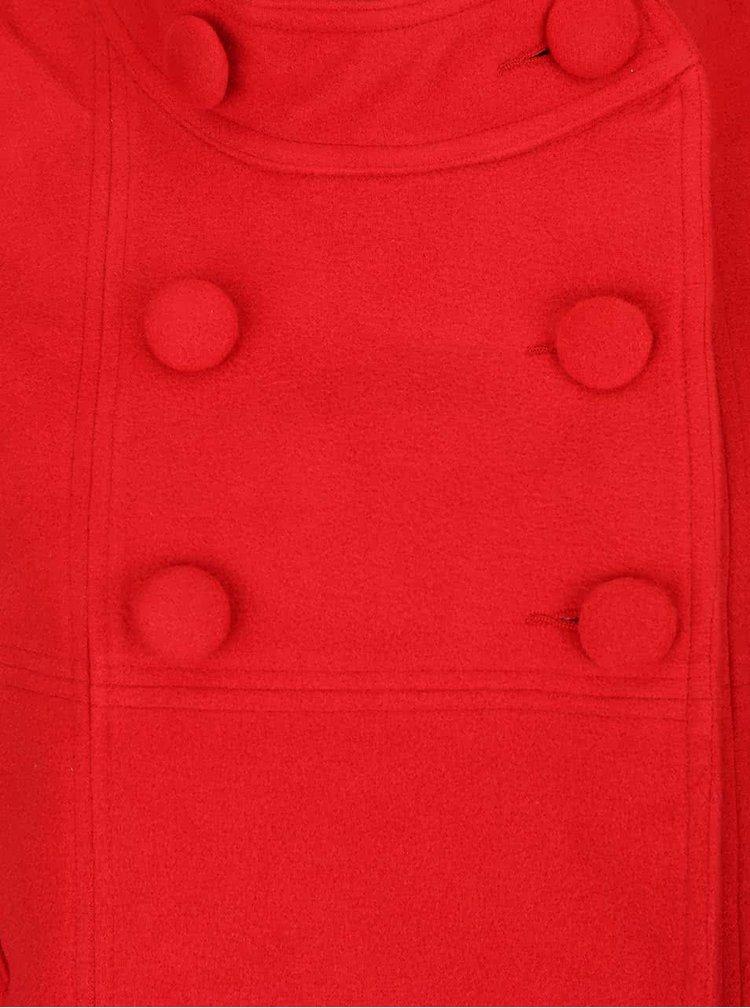 Červený kabát se zkrácenými rukávy Fever London Salla