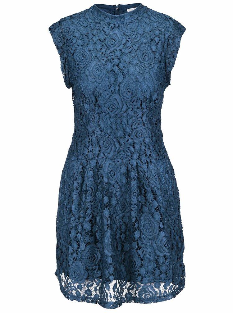 Rochie albastru-petrol Apricot din dantelă