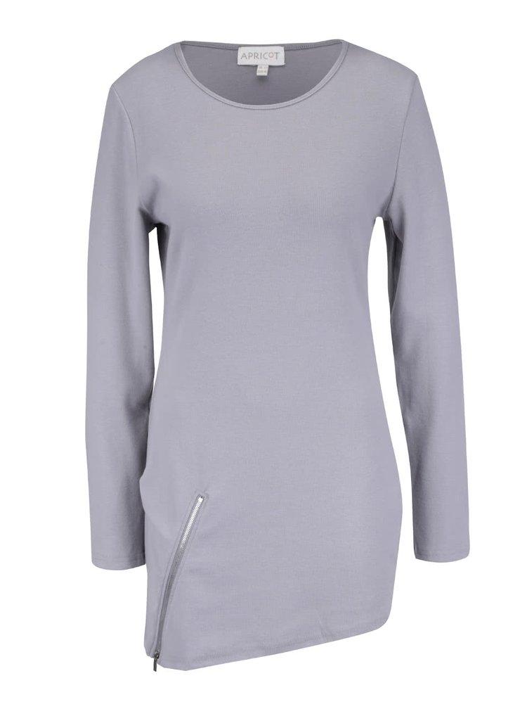 Bluză asimetrică Apricot gri
