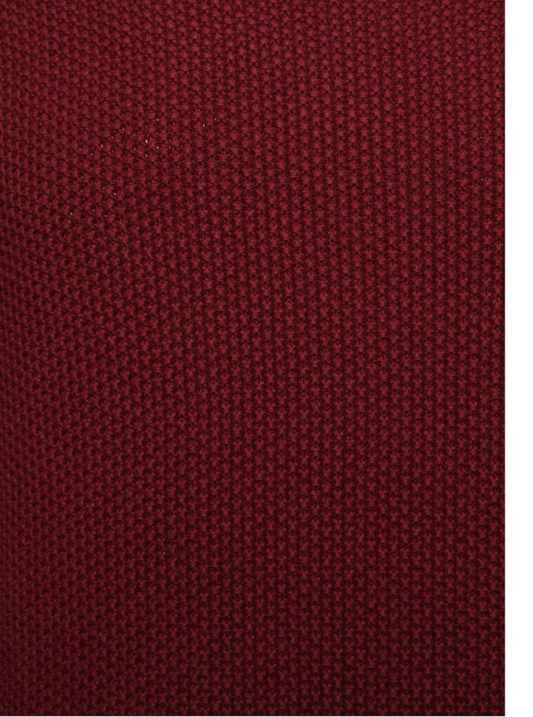 Vínový pánsky sveter RVLT