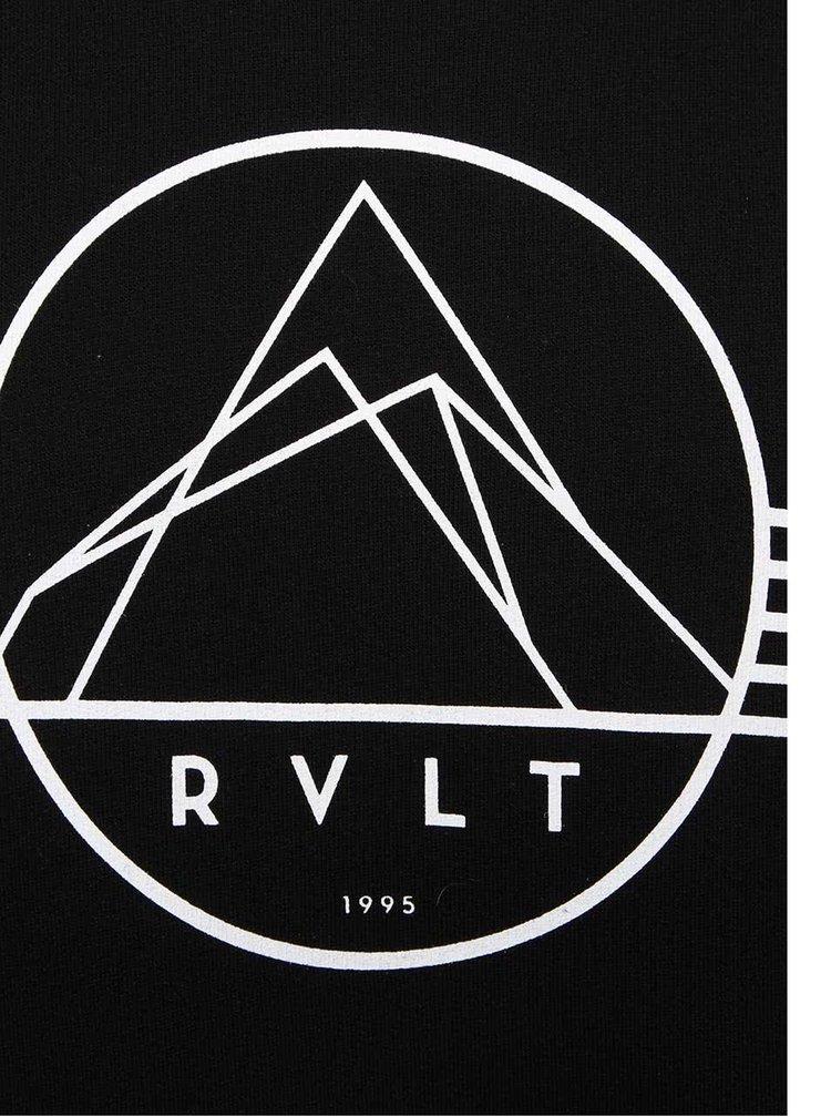 Černá pánská mikina s motivem RVLT