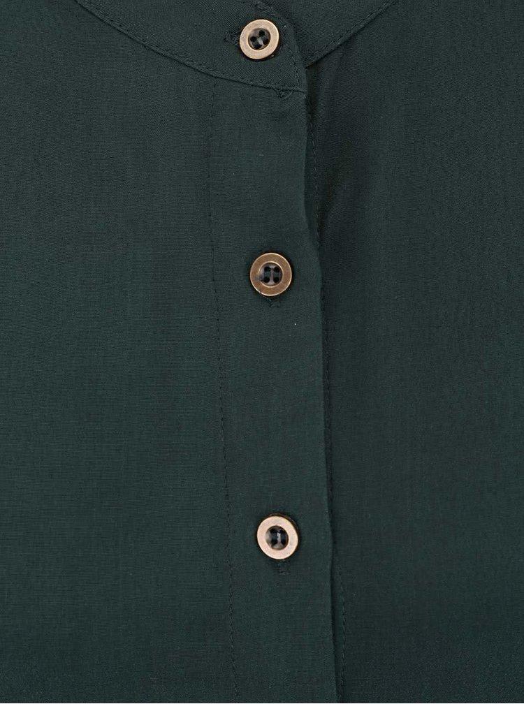 Cămașă verde Apricot cu mânecă scurtă