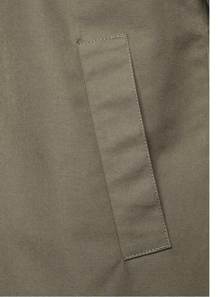 Zelaná pánská bunda s kapucí RVLT