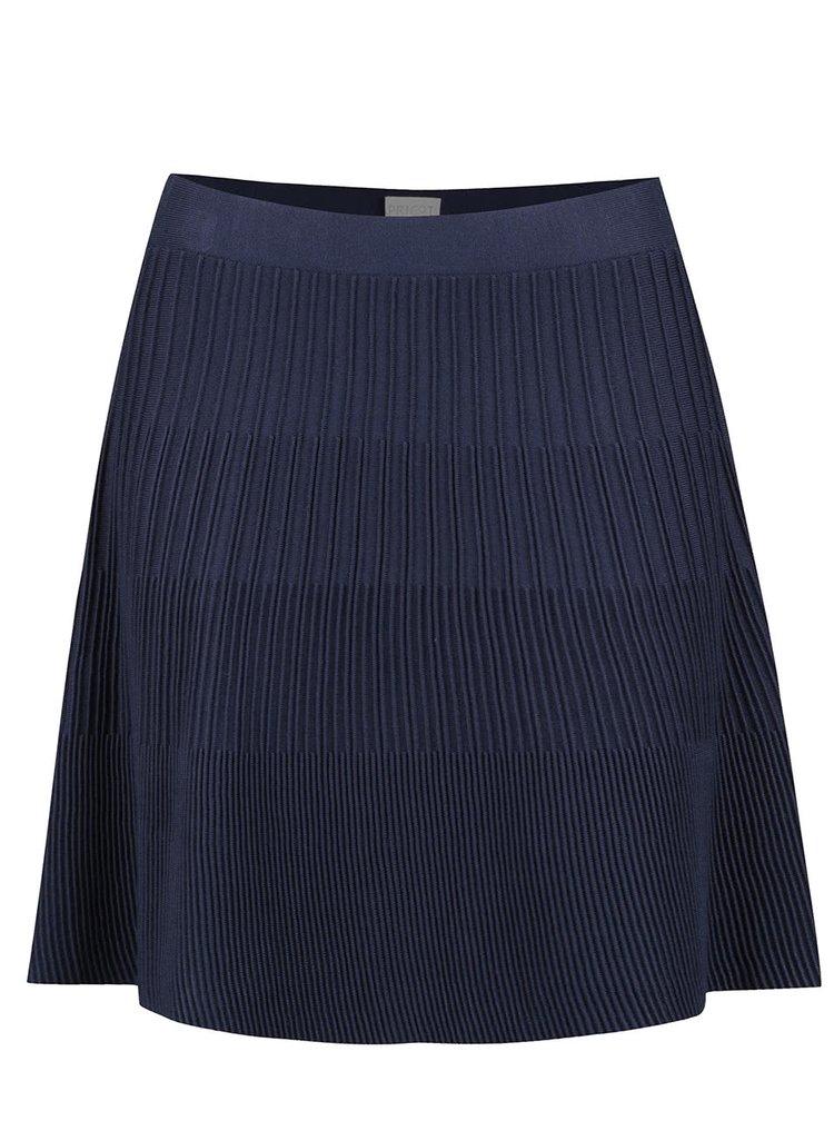Modrá rozšírená sukňa Apricot