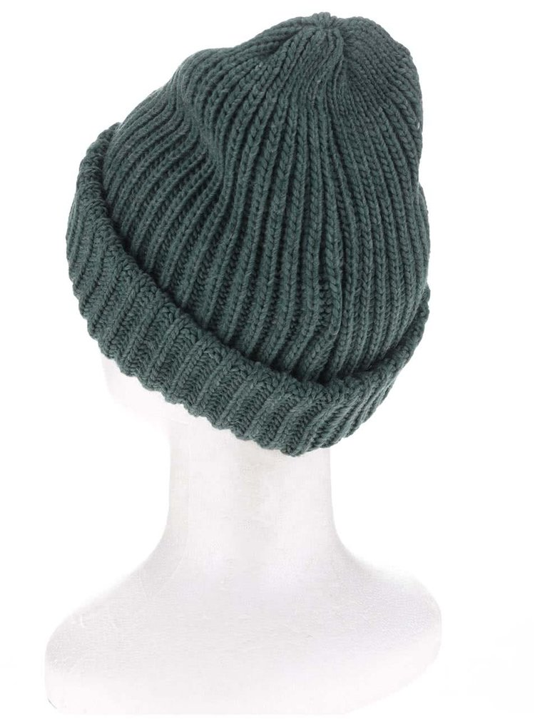 Caciula verde Pieces Poulula tricotata