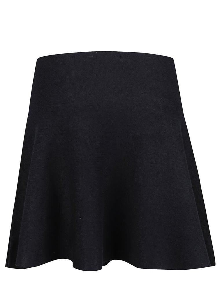 Černá rozšířená sukně Apricot