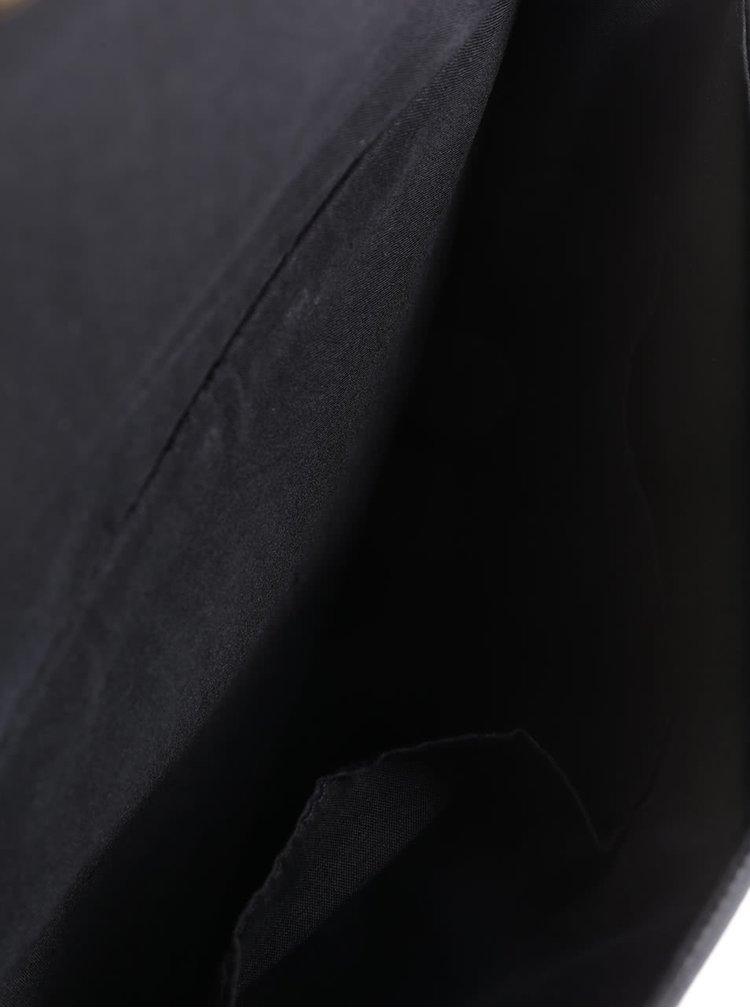 Vínovo-černá oboustranná crossbody kabelka Dorothy Perkins