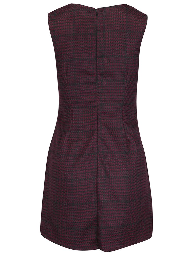 Čierno-vínové šaty Apricot