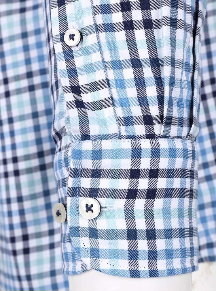 Cămașă albastră & albă Fynch-Hatton din bumbac cu model în carouri
