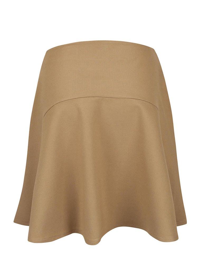 Béžová sukně Lavand