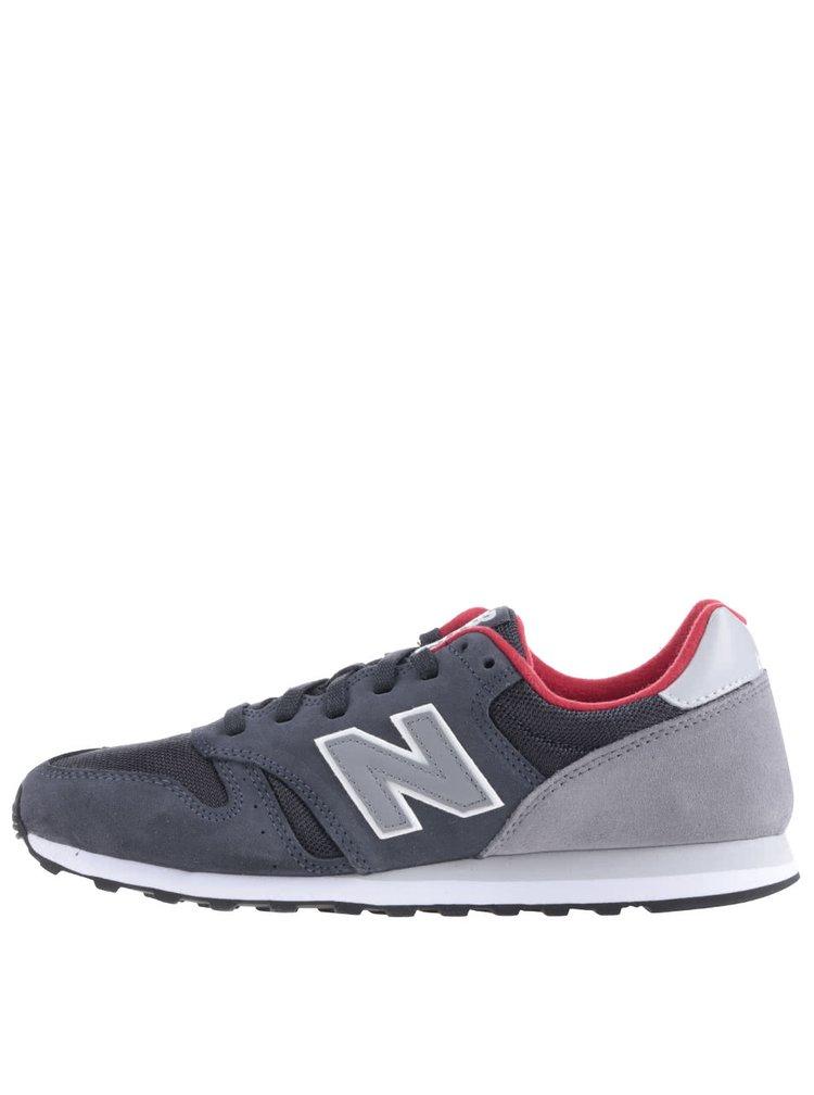 Pantofi sport New Balance 373 negru cu gri