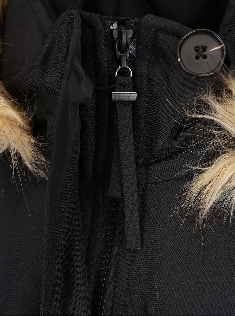 Geaca parka neagra VERO MODA Excursion Expedition