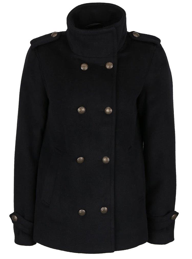 Čierny kabát VERO MODA Abelle