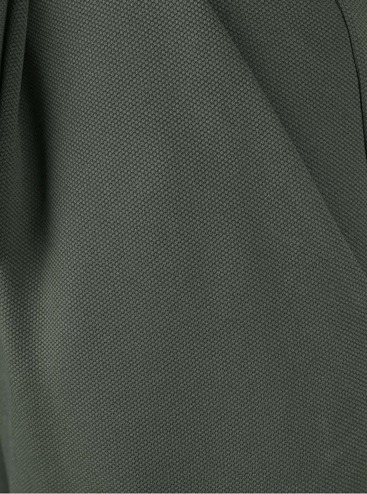 Kaki voľnejšie nohavice Lavand