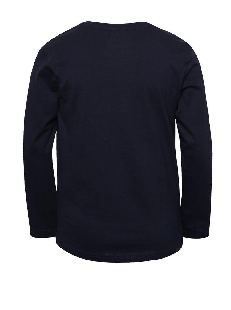 Bluză albastru închis 5.10.15. din bumbac