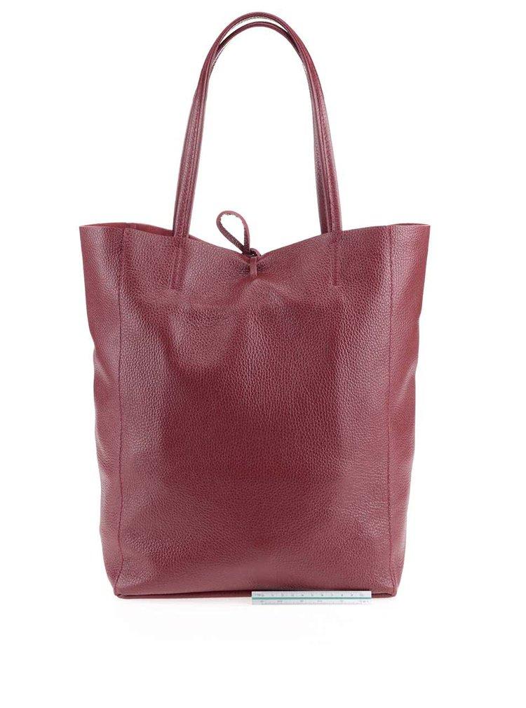Geanta rosu burgundy ZOOT Simple