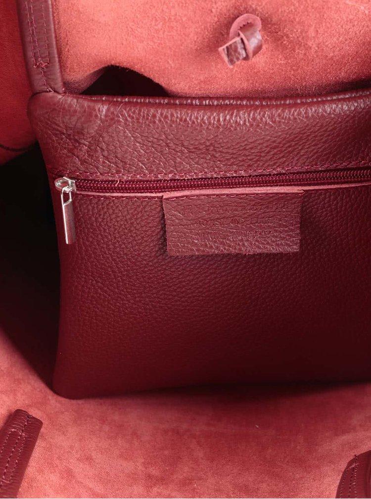 Geantă roșu burgundy ZOOT Simple