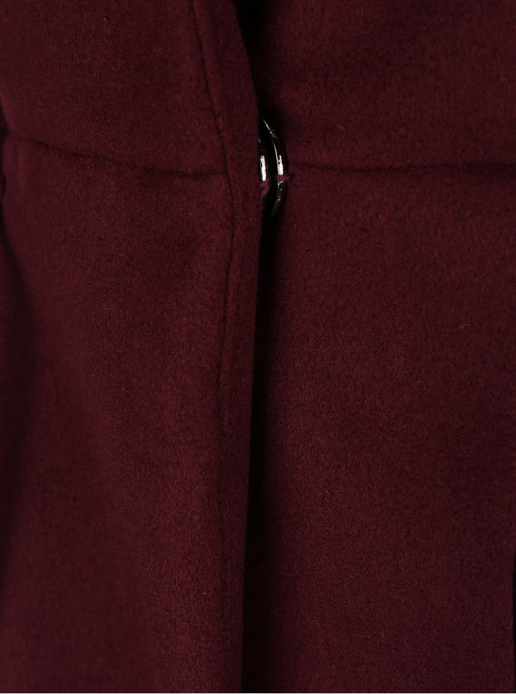 Palton rosu burgundy ZOOT Simple