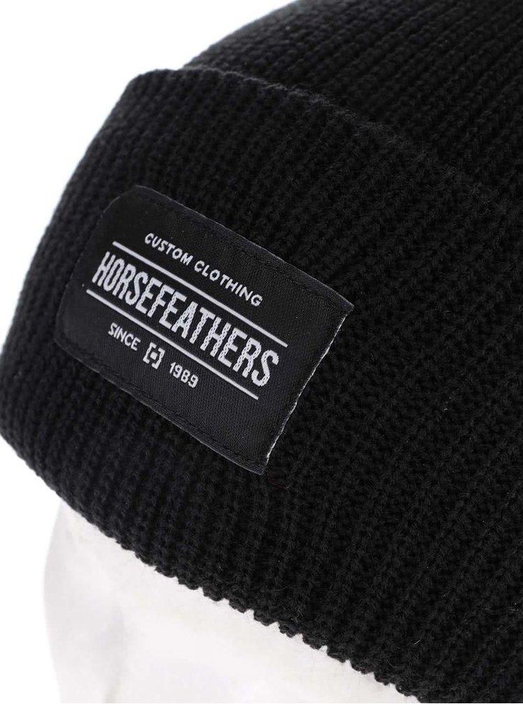 Čierna dámska čiapka Horsefeathers Tina