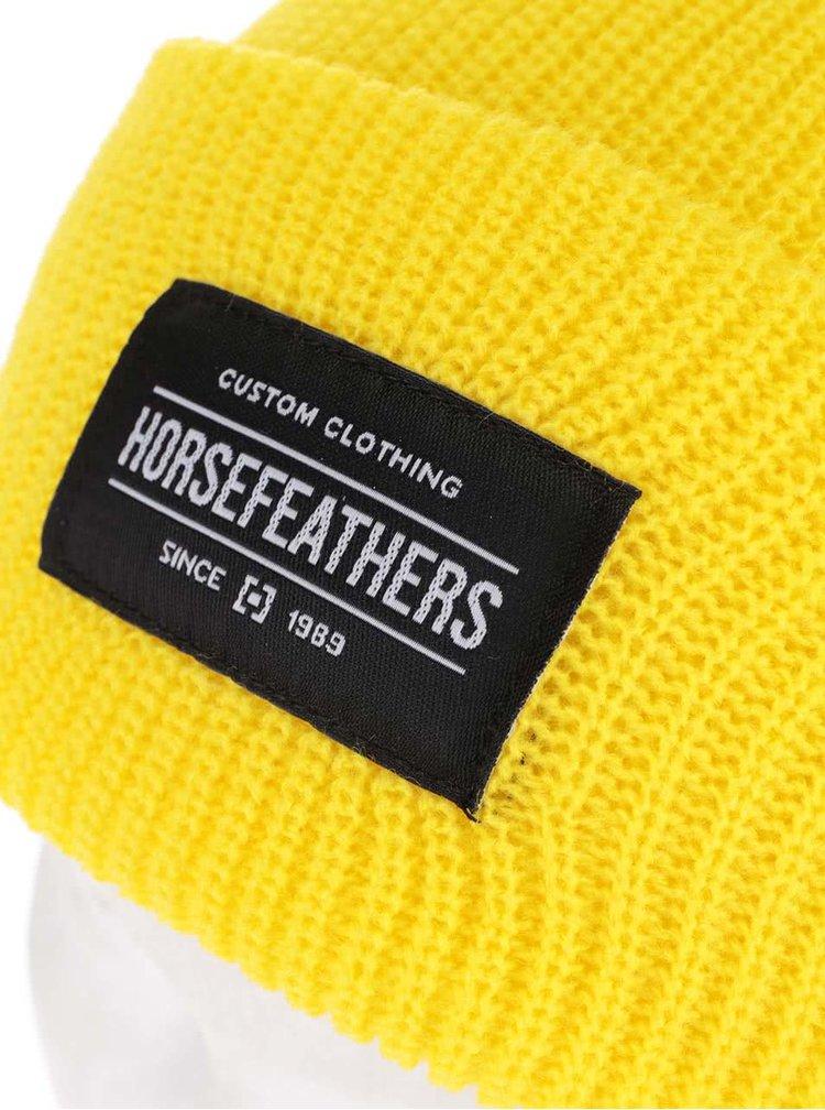 Žlutá dámská čepice Horsefeathers Tina