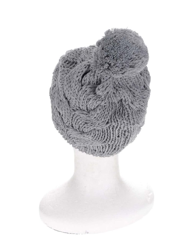 Sivá dámska pletená čipka  Horsefeathers Devon